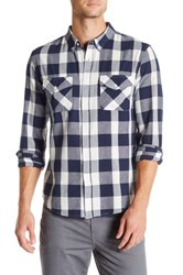 United By Blue Sansom Regular Fit Checkered Shirt Blue