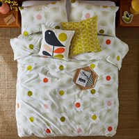 Orla Kiely Striped Petal Duvet Cover Multi Spot