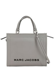Marc Jacobs The Box 29 Leather Shopper Bag Grey