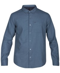 Hurley One And Only 2.0 Solid Woven Shirt Hasta