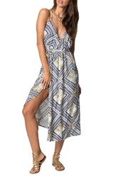 O'neill Women's Leelee Midi Wrap Dress Naked