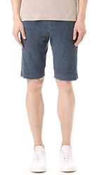 Theory Moris Marine Terry Shorts Light Eclipse