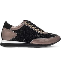 Carvela Lemmy Trainers Black Comb