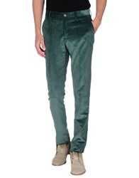 Etro Trousers Casual Trousers Men Emerald Green