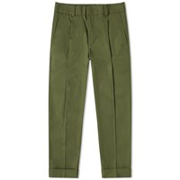 Acne Studios Pierre Heavy Cropped Pant Green