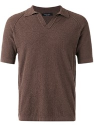 Roberto Collina Classic Shirt Brown