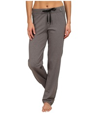 Trina Turk Quilted Track Pants Heather Grey Women's Casual Pants Gray