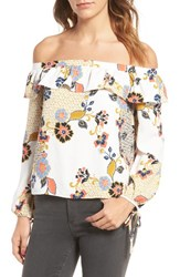 Cooper And Ella Women's Leticia Off The Shoulder Blouse