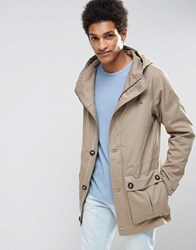 Selected Homme Parka With Drawstring Waistband Desert Beige