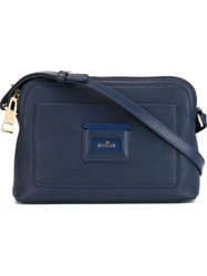 Hogan Small Zip Crossbody Bag Blue