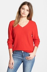 Wildfox Couture Women's Wildfox V Neck Pullover India Pink