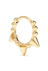 Maria Tash 8Mm 14 Karat Gold Hoop Earring