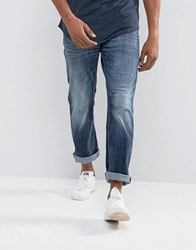 Jack And Jones Intelligence Jeans In Regular Fit Blue 255