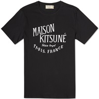 Maison Kitsune Palais Royal Tee Black And White
