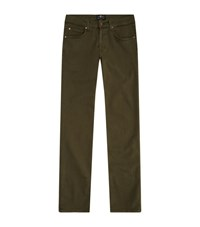 7 For All Mankind Slimmy Luxe Performance Jeans Male Khaki