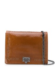 Marc Ellis Kaia Shoulder Bag Brown
