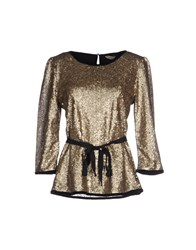 Darling Shirts Blouses Women Black