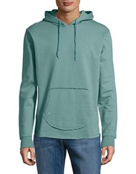 Sovereign Code Long Sleeved Cotton Hoodie Seafoam