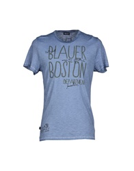 Blauer T Shirts Light Grey