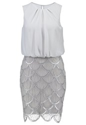 Laona Cocktail Dress Party Dress Silver Grey