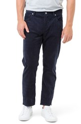 7 Diamonds Men's Courtland Slim Fit Corduroy Pants Navy