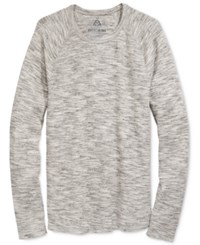 American Rag Men's Space Dyed Thermal Shirt Only At Macy's Black