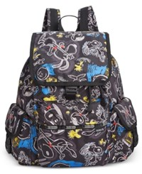 Le Sport Sac Lesportsac Peanuts Collection Voyager Backpack Chalkboard Snoopy