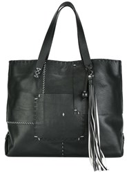 Henry Beguelin 'Hippy' Tote Black