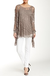 Luma Long Sleeve Blouse Beige