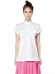 I'm Isola Marras Short Sleeve Cotton Poplin Shirt