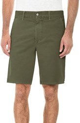 Joe's Jeans Brixton Trim Fit Straight Leg Shorts Olive Tree