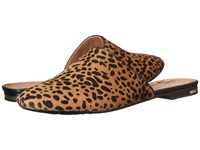 Yosi Samra Parker Ponyhair Mule Spotted Leopard Women's Slip On Shoes Animal Print