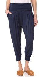 Three Dots Easy Pants Night Iris