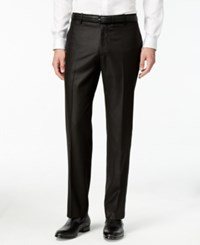 Inc International Concepts Men's Customizable Slim Fit Tuxedo Pants Only At Macy's Black Slim Pant