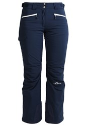 J. Lindeberg J.Lindeberg Prindle Waterproof Trousers Navy Purple Dark Blue