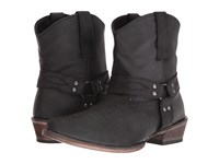Roper Harness Black Split Crazy Cowboy Boots