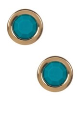 Marc By Marc Jacobs All Tied Up Rubber Stud Earrings Green