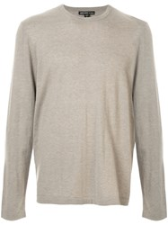 James Perse Cashmere Long Sleeved Jumper 60