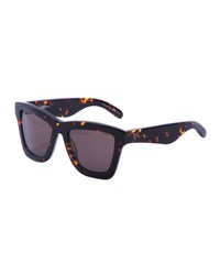 Valley Eyewear Db Square Gradient Sunglasses Brown Tortoise Brown Pattern