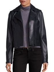Rag And Bone Mercer Leather Moto Jacket Scarab