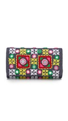 Santi Embroidered Clutch Multi