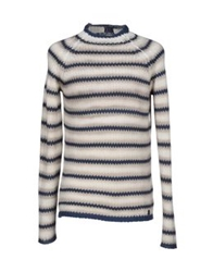 Trussardi Jeans Turtlenecks Ivory
