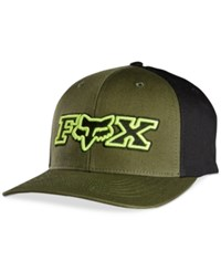 Fox Men's Grimmer Flex Fit Hat Military Green