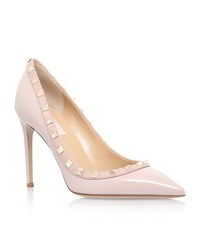 Valentino Rockstud Court Shoes 100 Female Nude