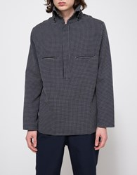 Camo Javier Jumper Navy Check
