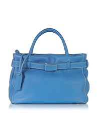 Buti Leather Mini Tote Light Blue
