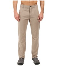 Royal Robbins Convoy All Season Pants Khaki Men's Casual Pants