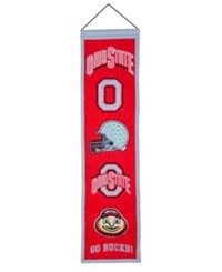 Winning Streak Ohio State Buckeyes Heritage Banner Team Color