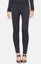 Lauren Ralph Lauren Stretch Cotton Blend Skinny Pants Regular And Petite Black