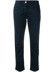 Closed Cropped Chinos Blue